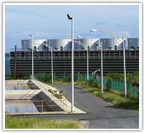 Crossflow Fiberglass Cooling Towers
